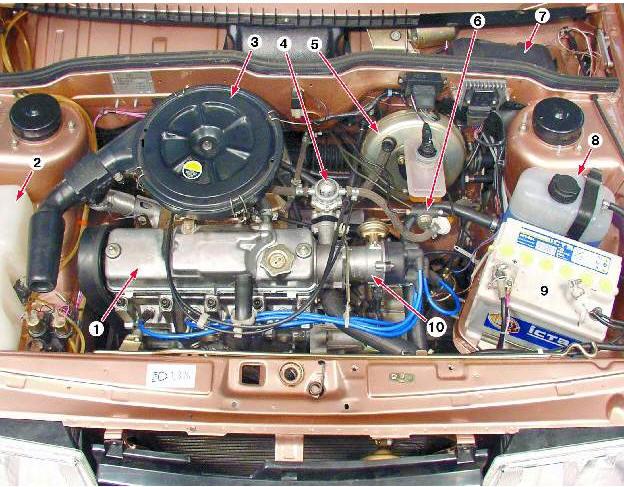 Снять двигатель с ваз 2109