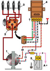электрическая схема ока 11113