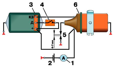 Схема проверки коммутатора